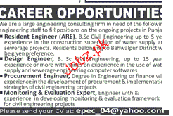 Resident Engineers, Design Engineers Job Opportunity