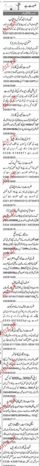 Cook, Chawkidars, Drivers, Aya, Governance Wanted