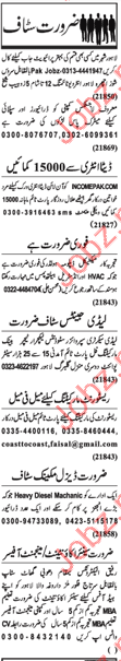 Faculty and Non Faculty staff required