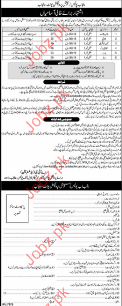 Clerical Jobs In Punjab Police Special Protection Unit