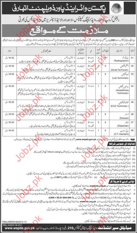 Pakistan Water & Power Development Authority Jobs