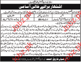 Excise and Technician Office ETO Jobs