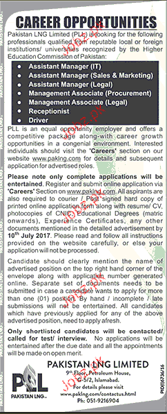 Assistant Manager IT, Assistant Manager Sales Wanted