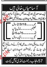 Pakistan Army 57 Raiment Landi Kotal Career Opportunity