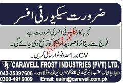 Security Officers  Job Opportunity
