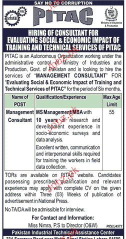 Management Consultants Job Opportunity