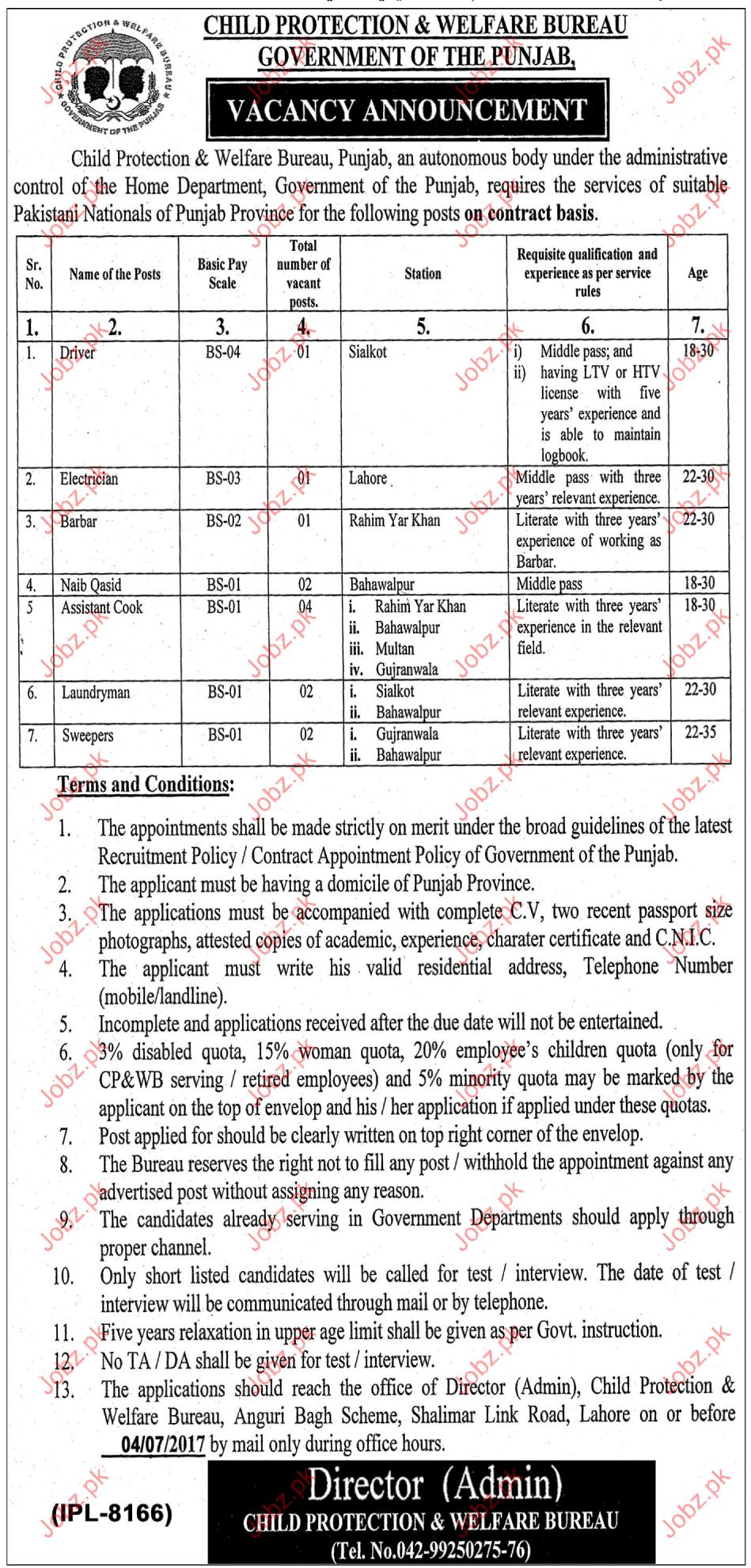 Child Protection and Welfare Bureau CPWB Careers