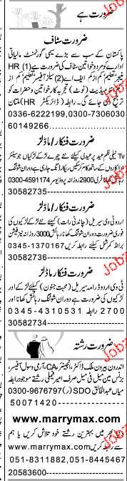 Sales Officers, Human Resource Managers Job Opportunity