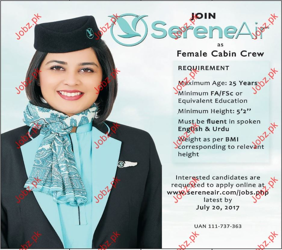 Serene Air Career Opportunities