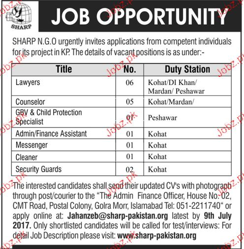 Lawyers, Counselors, Finance Assistants Job Opportunity