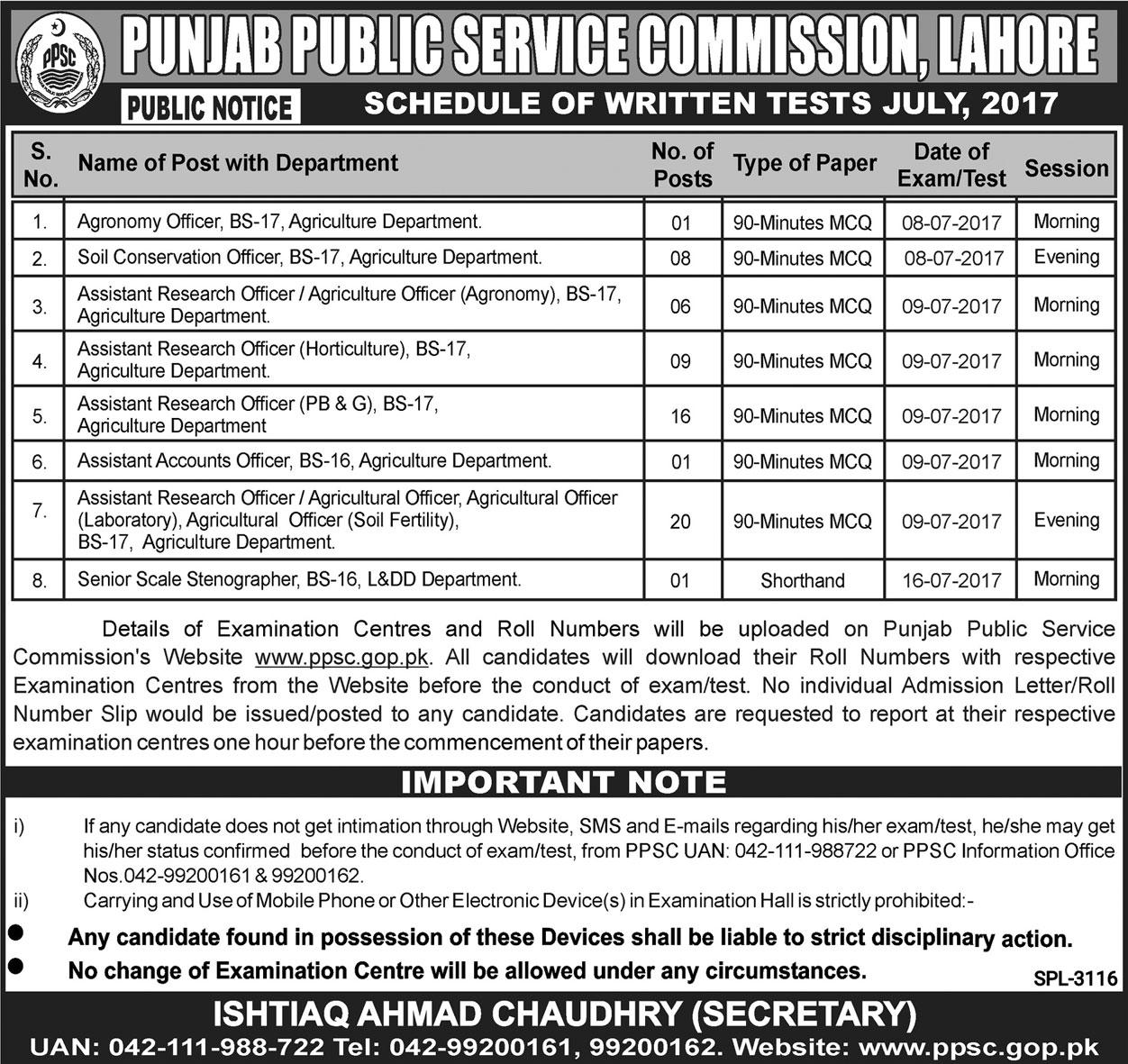 Punjab Public Service Commission PPSC Jobs Open
