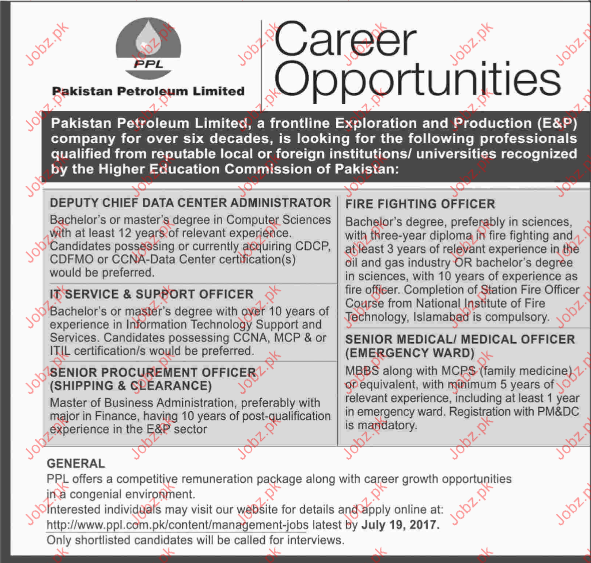 Administrator jobs in pakistan petroleum limited 2018 jobs administrator jobs in pakistan petroleum limited xflitez Choice Image