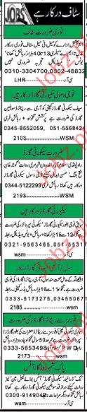 Cook Required Pak Kashmir Rozgaar Office