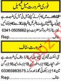 Civil and Retired staff required