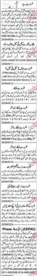Cooks, Chawkidars, Fabricators, Welders Job Opportunity