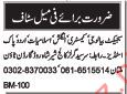 Teachers Required For Sir Syed Girls College