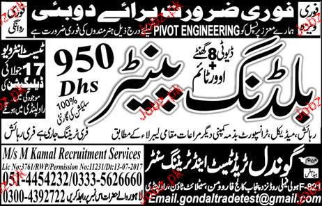 Building Painters Job Opportunity