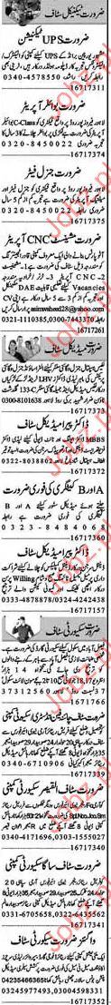 Doctor & Paramedical Staff Required