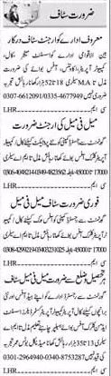 Job in Private Companies