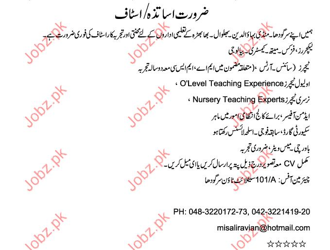 Teaching Jobs 2017