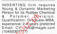INDENTING Firm Required Marketing Staff