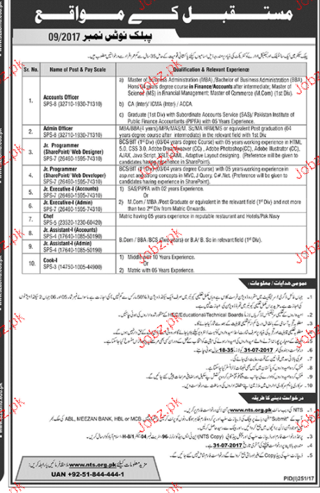 Accounts Officers, Admin Officers Job Opportunity