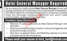 Hotel General Manager Job Opportunity