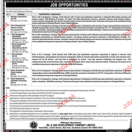 Oil and Gas Development Company Limited OGDCL 2017