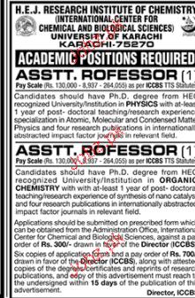 University of Karachi UOK Jobs 2017