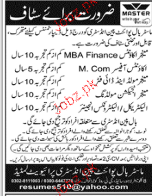 Manager Accounts, Accounts Officers Job Opportunity