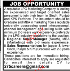 Regional Sales Manager Job Opportunity
