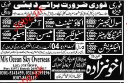 Civil Engineers, Accountant, Office Boys Wanted