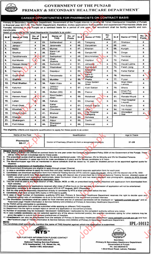 Physiotherapists Jobs In Primary & Secondary Healthcare