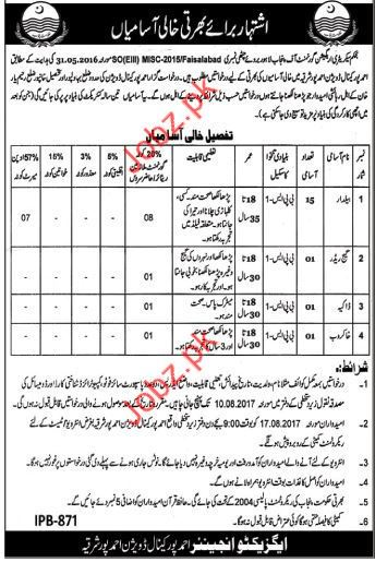 Canal Division Ahmed Pur Jobs