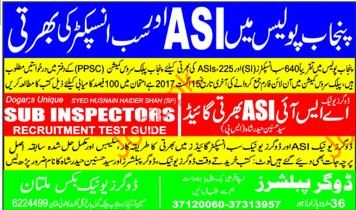 Punjab Police Jobs Opportunities