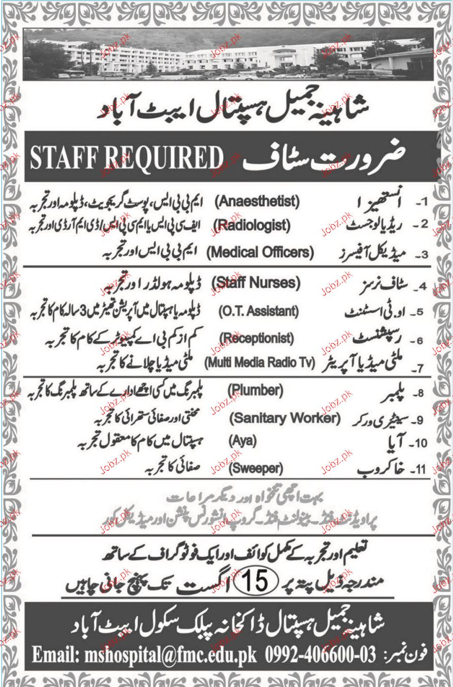 Medical Officers, Radiologists Job Opportunity