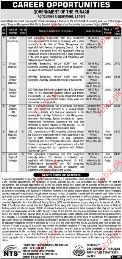 Director Jobs In Agriculture Department