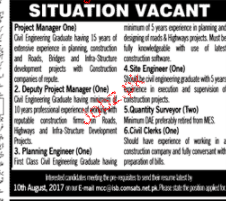 National Project Manager, Deputy Project Manager Wanted