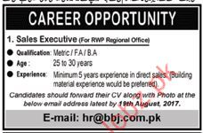 Sale Executive Required