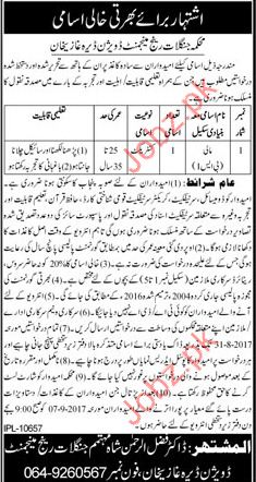 Forest Range Management Department Required Gardner