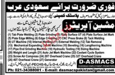 Machine Operators Job Opportunity