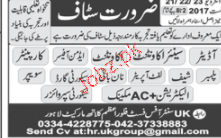 Auditors, Senior Accountant, Accountant Job Opportunity
