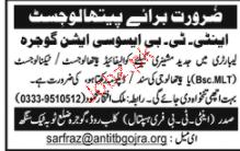 Pathologists Job Opportunity