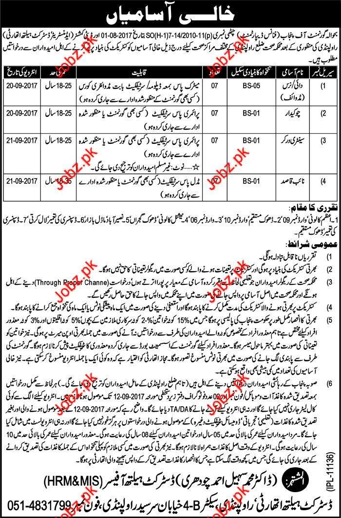 Jobs in Finance Department