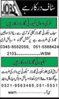 Security Staff Required For Saif Security Company