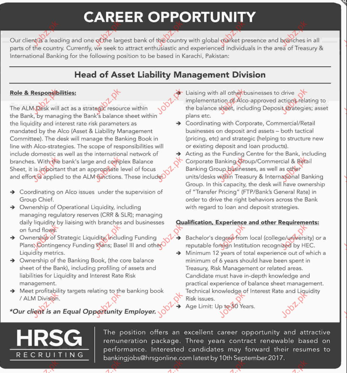 Banking Jobs Opportunity