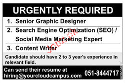 Senior Graphic Designers Job Opportunity