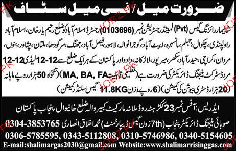 Male / Female District Managing Directors Job Opportunity