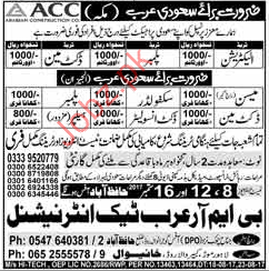 Arabian Construction Company ACC Careers