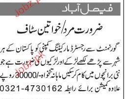 Government Registered Marketing Company  Jobs
